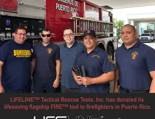 Donating Our Flagship FIRE™ Tool To Firefighters In Puerto Rico